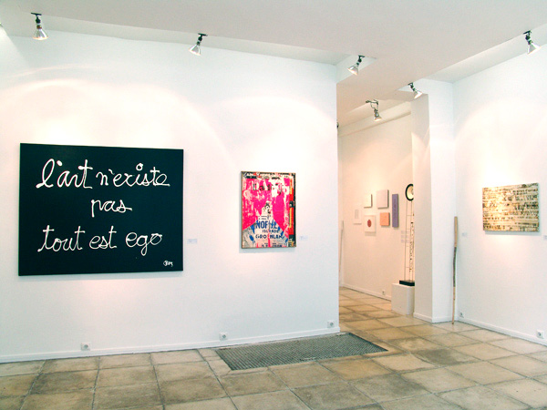 Exhibition of the gallery artists 2009